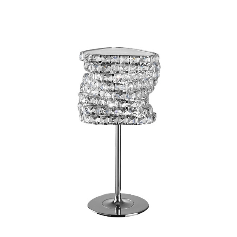 lampada da tavolo cristallo design